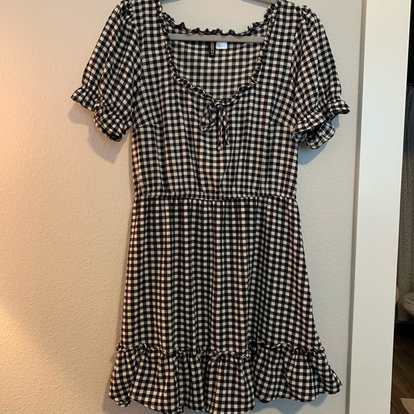 Divided Dresses & Skirts - HM Gingham print Dress